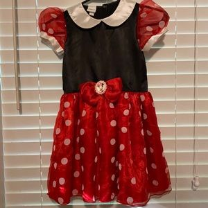 Disney Minnie Mouse Costume size 4/5T